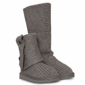 UGG   Classic Cardy Sweater Knit Boots
